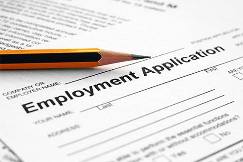resume for online application