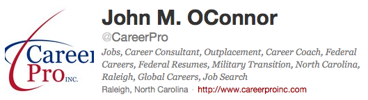 CareerPro Twitter Profile
