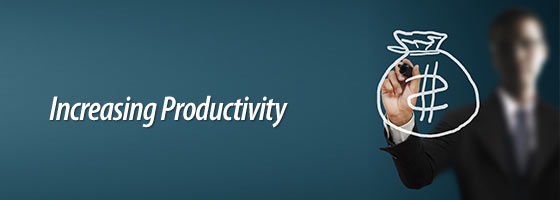 Increasing Productivity