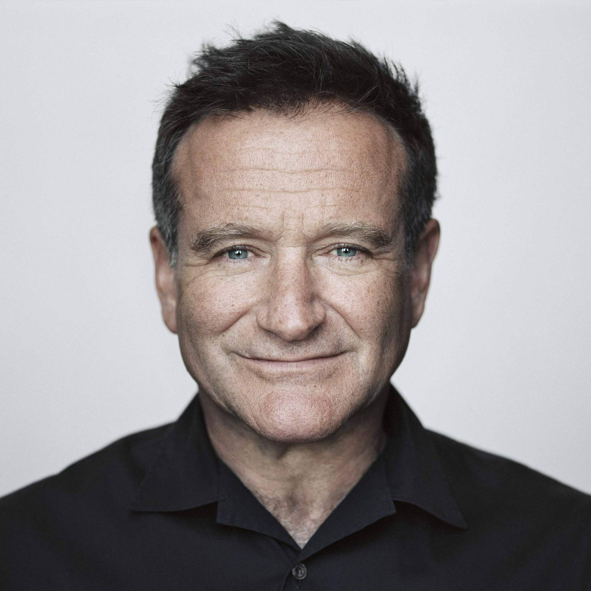 Robin Williams Portrait by Brigitte Lacombe
