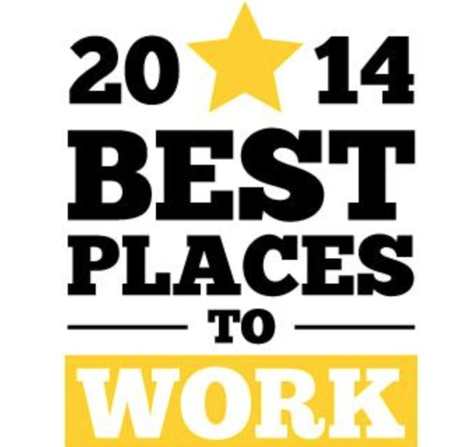 2014 Best Places to Work Award