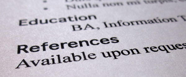 Resume References Tips