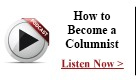 Podcast - How to Become a Columnist